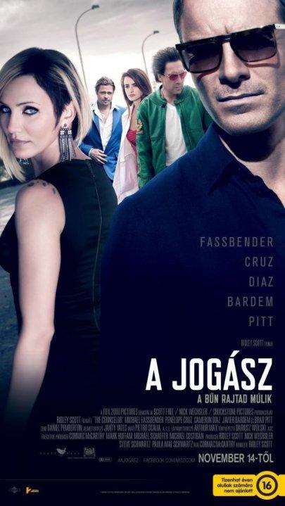 Ridley Scott A jogász című filmjének plakátja