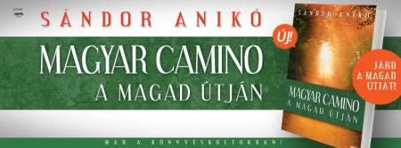 Sándor Anikó Magyar Camino című könyvének borítója
