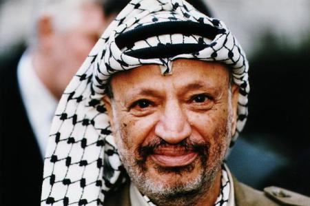 Jasszer Arafat palesztin vezető (1929-2004)