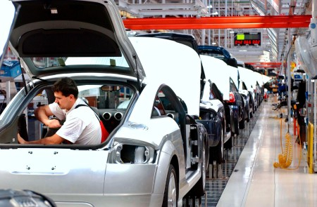 A győri Audi-gyár