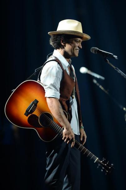 Bruno Mars amerikai énekes koncertet ad a Papp László Budapest Sportarénában 2013. november 7-én