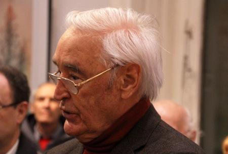 Czeizel Endre orvos-genetikus Budapesten 2012. november 28-án (Fotó: Mészáros Márton)