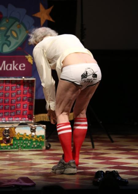 Sir Ian McKellen brit színész a Only Make Believe-gálán a New York-i Broadwayon 2013. november 4-én