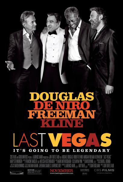 A Last Vegas című amerikai vígjáték plakátja