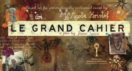 Szász János A nagy füzet című filmjének plakátja