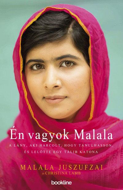 Malala Juszufzai Én vagyok Malala című könyvének magyar kiadása