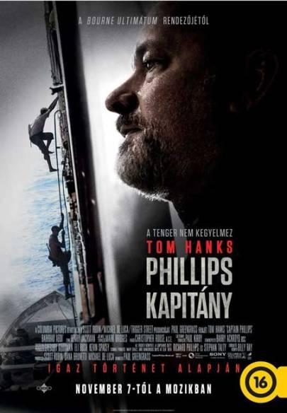 A Phillips kapitány című film magyar nyelvű posztere
