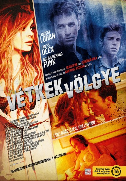 A Vétkek völgye (The Canyons) című film plakátja