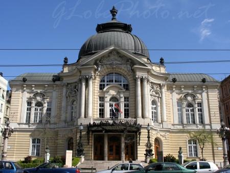 A Vígszínház épülete
