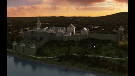 Így nézhetett ki a budai vár 1490-ben