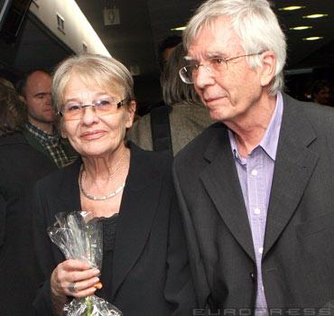 Maár Gyula filmrendező (1934-2013) és felesége, Törőcsik Mari