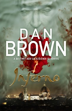 Dan Brown Inferno című könyvének magyar nyelvű borítója
