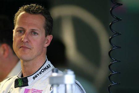 Michael Schumacher német Forma-1-es világbajnok