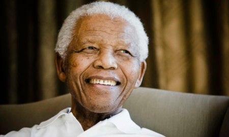Nelson Mandela Nobel-békedíjas dél-afrikai elnök (1918-2013)