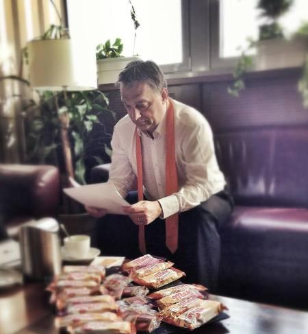 Orbán Viktor magyar kormányfő