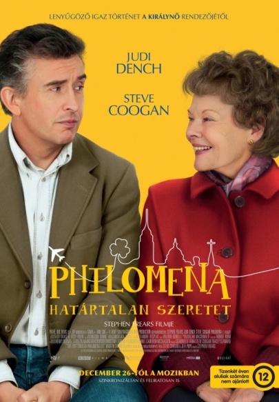 A Philomenia – Határtalan szeretet című film magyar nyelvű posztere