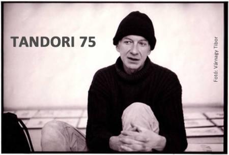 Tandori Dezső Kossuth-díjas költő, író, műfordító