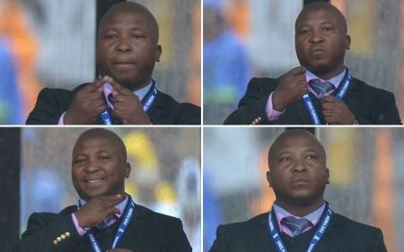 Thamsanqa Jantjie, Nelson Mandela volt dél-afrikai elnök búcsúztatóján feltünő jeltolmács