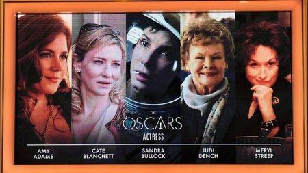 Amy Adams, Cate Blanchett, Sandra Bullock, Judi Dench és Meryl Streep - Legjobb női főszereplő kategória Oscar-jelöltjei 2014-ben