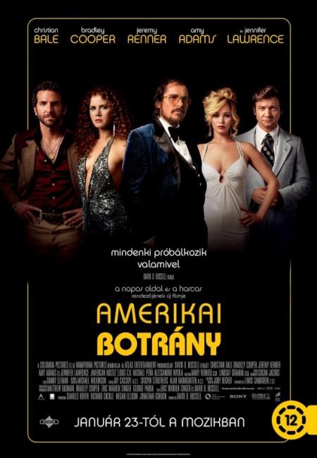 Az Amerikai botrány című film posztere