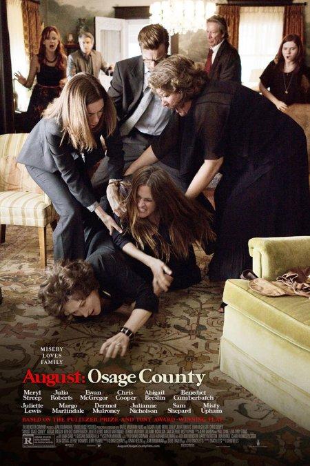 Az Augusztus Oklahomában (August: Osage County) című film plakátja