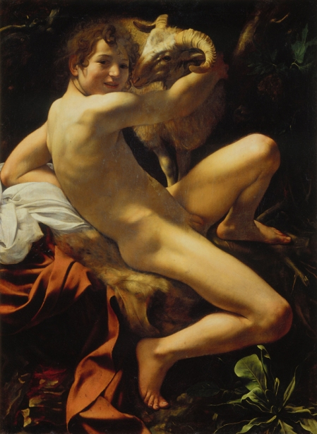 Keresztelő Szent János (Caravaggio festménye)
