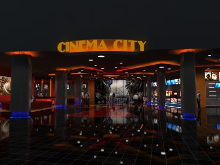 Az Aréna Pláza Cinema City mozija