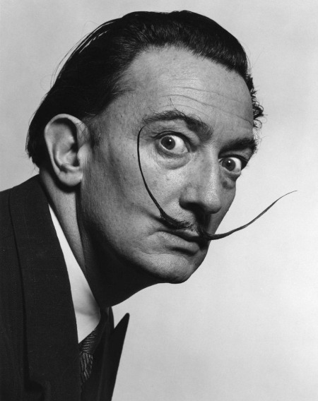 Salvador Dalí katalán festőművész (1904-1989)