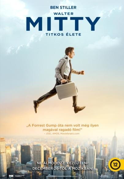 Walter Mitty titkos élete (The Secret Life of Walter Mitty)  című film plakátja