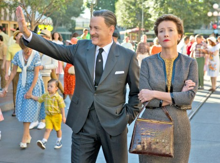 Tom Hanks és Emma Thompson a Banks úr megmentése című film egyik jelenetében