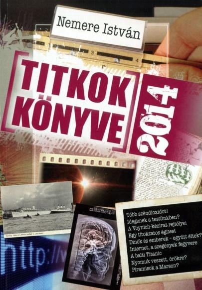 Nemere István: Titkok Könyve 2014