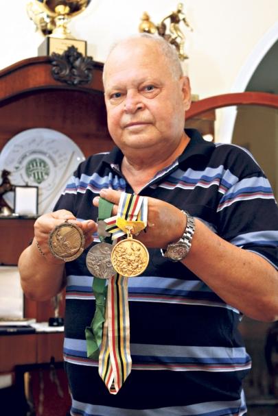 Novák Dezső (1939-2014) olimpiai bajnok labdarúgó