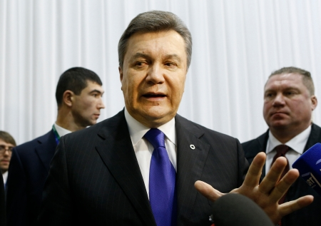 Viktor Janukovics ukrán elnök