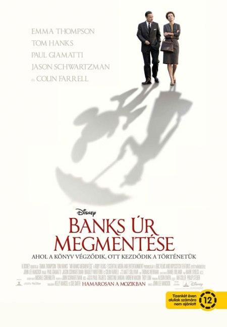 A Banks úr megmentése című film plakátja