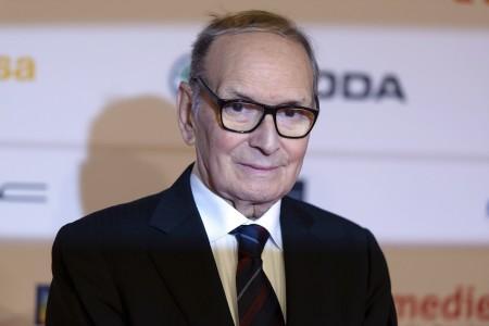 Ennio Morricone Oscar-díjas olasz filmzeneszerző