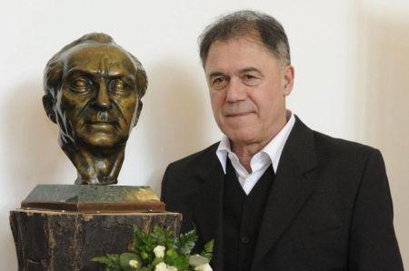 Gáspár Sándor Kossuth-díjas színművész a makói Hagymaházban 2014. február 9-én