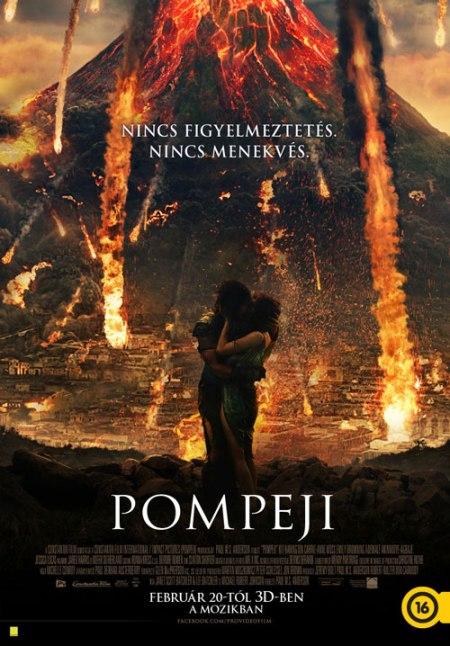 A Pompeji című film magyar nyelvű posztere