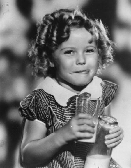 Shirley Temple amerikai gyermekszínész (1928-2014)