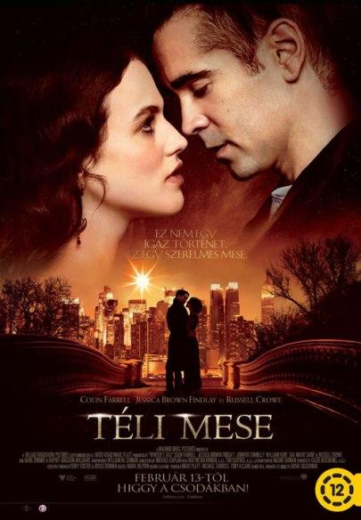 A Téli mese (Winter's Tale) című film magyar nyelvű plakátja