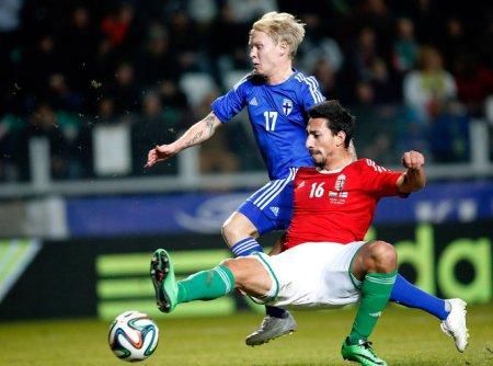 Magyarország - Finnország barátságos labdarúgó-mérkőzésen Győrben, az ETO Parkban 2014. március 5-én