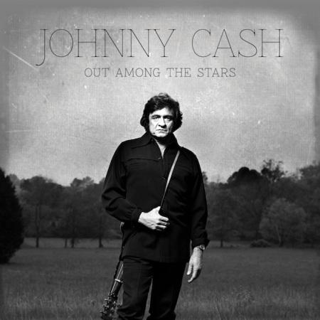 Johnny Cash  Out Among the Stars című posztumusz albumának címlapja