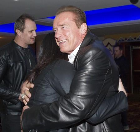 Arnold Schwarzenegger osztrák származású amerikai akciófilmsztár