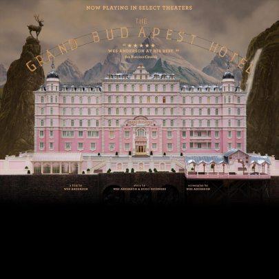 A Grand Budapest Hotel című film plakátja