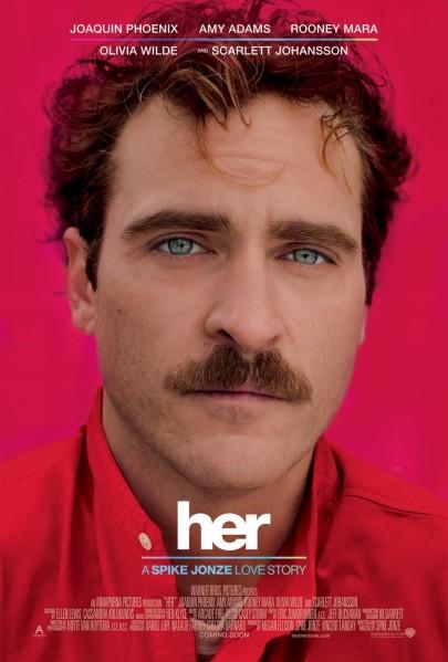 A nő (Her) című film plakátja