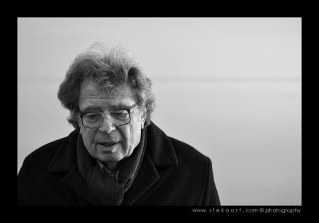 Konrád György Kossuth-díjas magyar író (Stekovics Gáspár felvétele)