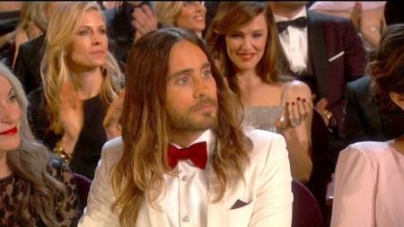 Jared Leto amerikai színész az Oscar-gálán Los Angelesben 2014. március 2-án