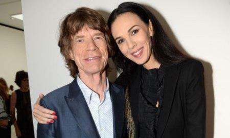 L'Wren Scott (1964-2014) és párja, Mick Jagger