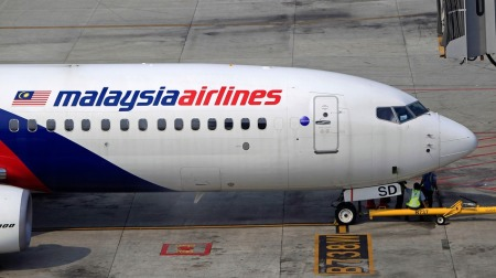 A Malaysia Airlines repülőgépe