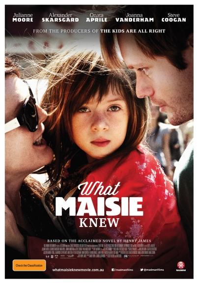 A Maisie tudja (What Maisie Knew) című film plakátja