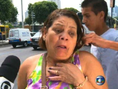 Részlet a RJTV brazil csatorna híradójából